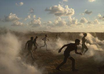 vídeo muestra palestino años abatido disparos ejército israelí