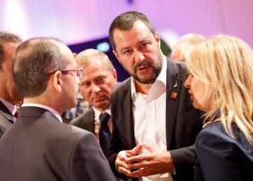 """Salvini compara a los inmigrantes con """"esclavos"""" y saca de quicio al ministro de Exteriores luxemburgués"""