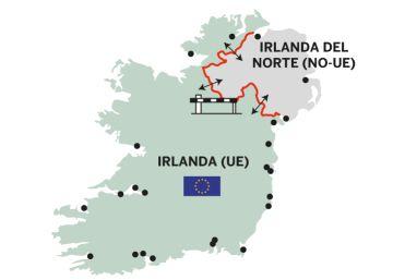 La pelea por el mapa de Irlanda