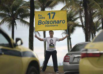 Los sondeos confirman a Bolsonaro como gran favorito para la segunda vuelta en Brasil