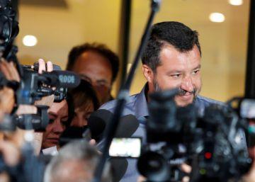 El Senado italiano debatirá el 20 de agosto la moción de censura presentada por Salvini