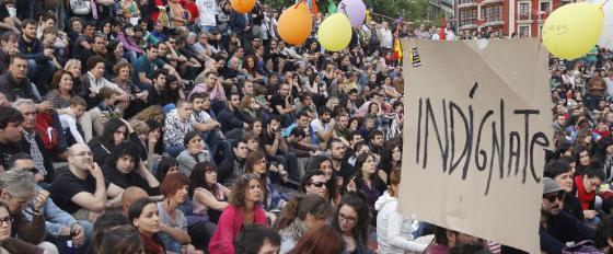 """Para el """"15-M"""" no sólo es el gobierno. Los partidos políticos tampoco se salvan"""