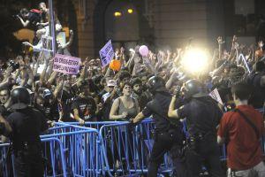 Indignados toman Madrid