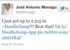 Monago cierra su Twitter por una travesura