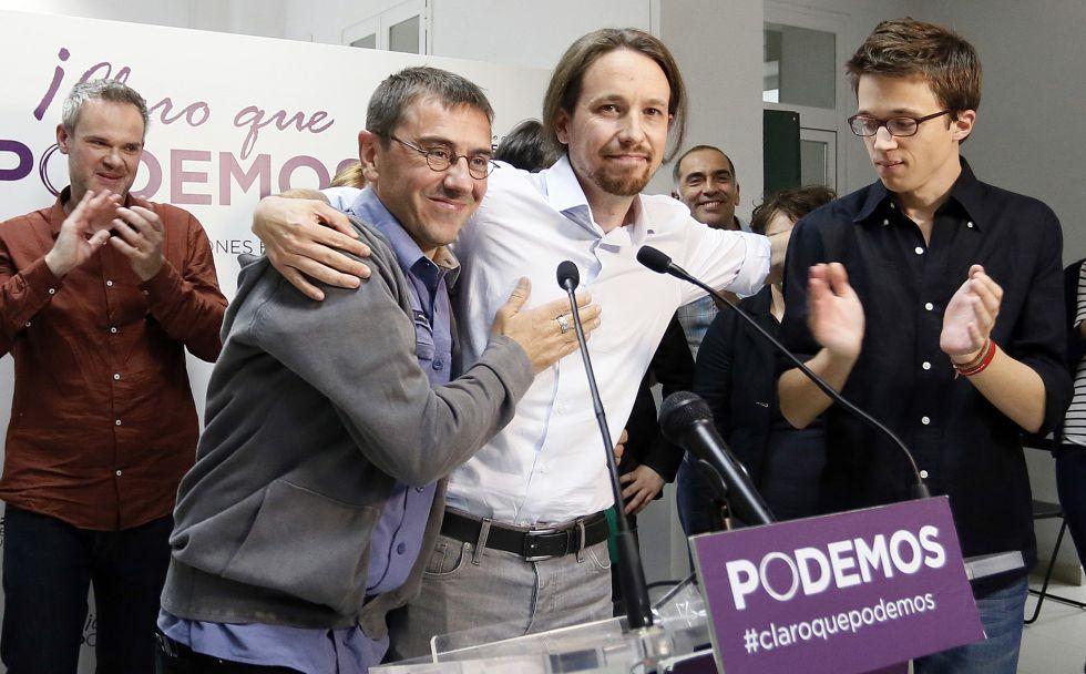 Podemos,  UP,  Convergencias...  Pablo Iglesias: «Echo en falta cierto patriotismo en la política española» 1403039351_862188_1403077783_noticia_grande
