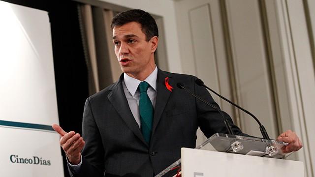 Sánchez no descarta acuerdos parlamentarios con otras fuerzas