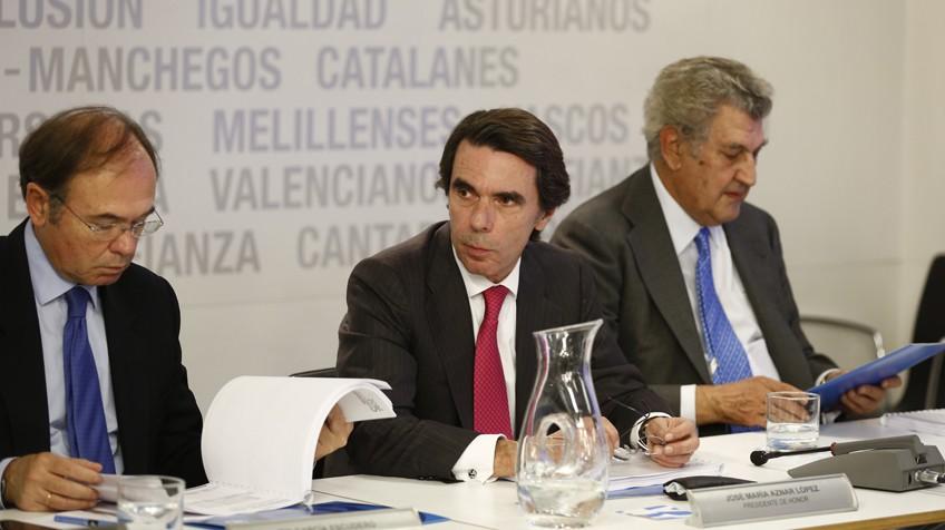 Elecciones generales 20 d aznar reaparece para exigir un for Banco abierto sabado madrid