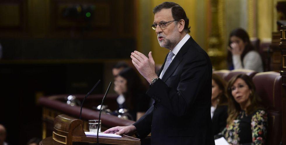 Resultado de imagen de Rajoy (Investidura)
