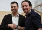 El encuentro entre Sánchez e Iglesias, en cinco tuits (y un retuit)