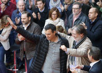 Sánchez empieza en Sevilla su gira para ?escuchar a los militantes?