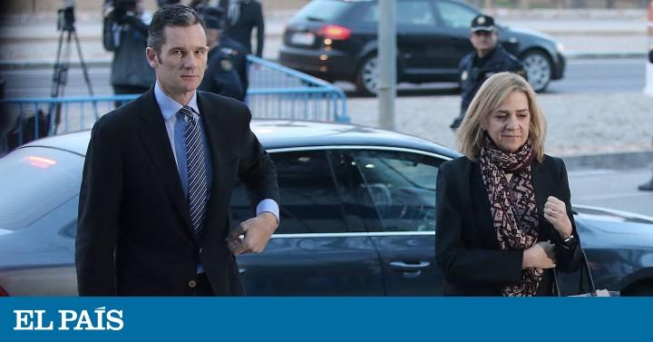 La Audiencia condena a Urdangarin a 6 años y 3 meses de cárcel y absuelve a la Infanta