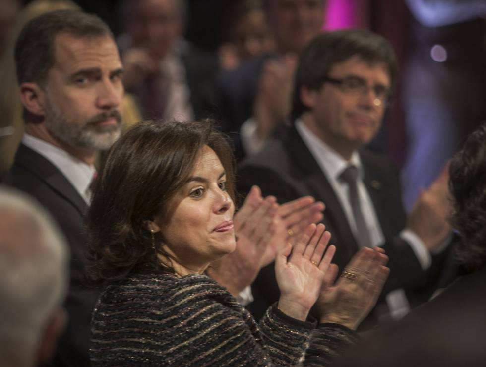El Rey realiza su primera visita a Cataluña en el año del referéndum