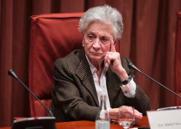 Marta Ferrusola encarga dos libros para ?limpiar? la imagen de los Pujol