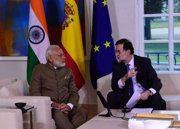 Modi y Rajoy acuerdan una ?hoja de ruta? para impulsar las relaciones bilaterales