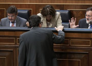 Rajoy ordena tensión a todos sus ministros