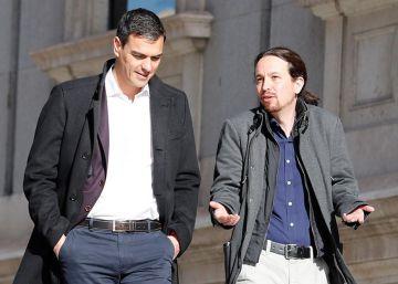Sánchez e Iglesias reanudan el diálogo con el propósito de acordar iniciativas conjuntas