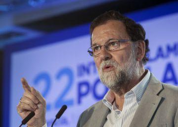 Rajoy subraya la falta de apoyos internacionales de los independentistas y sus divisiones internas