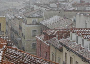 Una borrasca dejará una copiosa nevada el fin de semana en buena parte del país