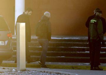 Torrent visita a Junqueras y a los líderes secesionistas presos en Madrid
