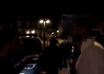 Un vídeo muestra qué pasó en la calle de Alsasua tras la pelea en el bar Koxka