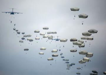13 paracaidistas españoles y estadounidenses heridos en un salto en San Gregorio