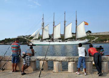 El descontrol del buque 'Elcano' deja impune el tráfico de 127 kilos de coca