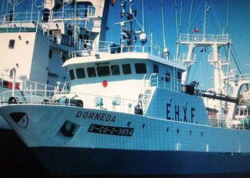Un muerto y un desaparecido en el naufragio de un pesquero gallego en Argentina