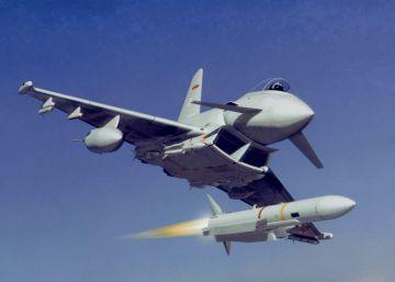 Un Eurofighter español dispara por accidente un misil en Estonia