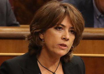 """Dolores Delgado, en directo: """"Ni las cloacas, ni la derecha, ni la extrema derecha me van a amedrentar"""""""