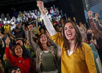 Irene Montero, el futuro de Podemos cambia de género