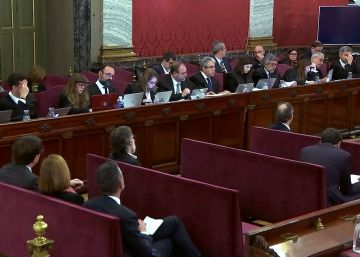 Últimas noticias del juicio al 'procés', en directo | Declara el mando policial encargado de los atestados del 1-O