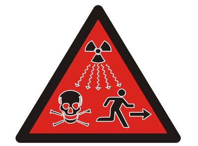 Una nueva seal para advertir del peligro radiactivo  Diseo