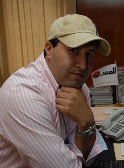 Rachid Niny, director del diario Al Massae, primer periódico de Marruecos. Niny ha criticado la fiesta homosexual
