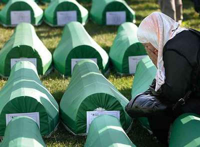 éntierro victimas bosnia