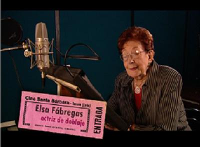 La dobladora Elsa Fábregas