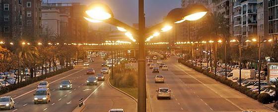 Contaminación lumínica en Valencia