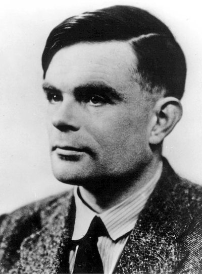 El matemático británico Alan Turing.