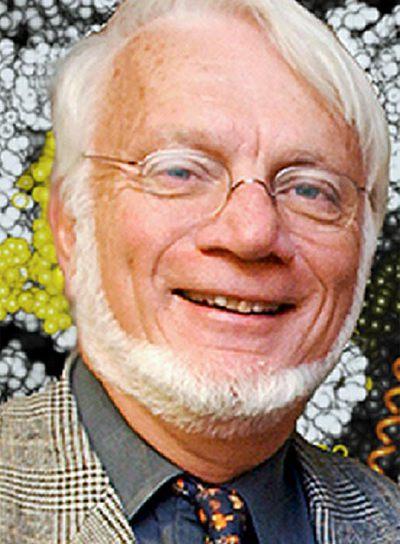 El científico estadounidense Thomas A. Steitz, premiado con el Premio Nobel de Química junto a Venkatraman Ramakrishnan y Ada Yonath.