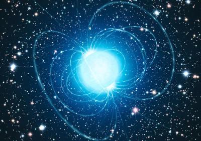 Una estrella muy magnética