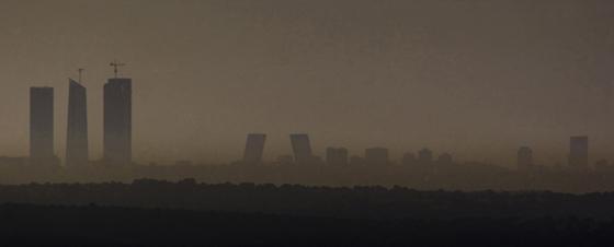 La polución cubre Madrid