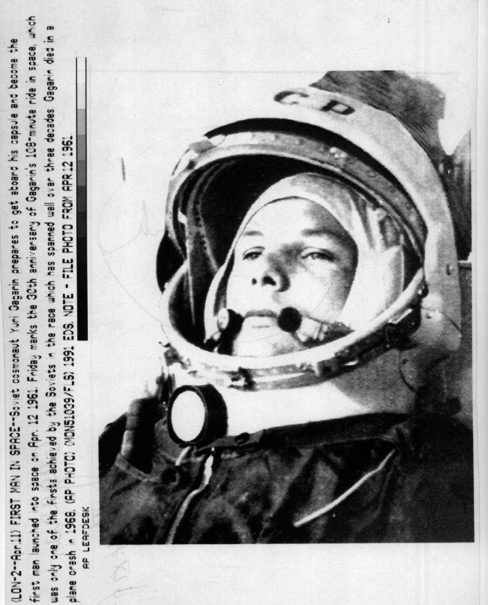 Honores de héroe  - Yuri Gagarin