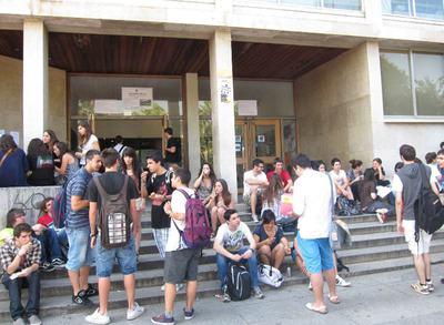 Estudiantes De Selectividad En Catalunya