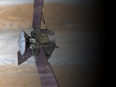 Galileo en la nave 'Juno'
