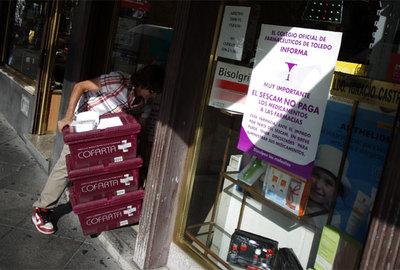 Cierre farmacéutico en Castilla-La Mancha