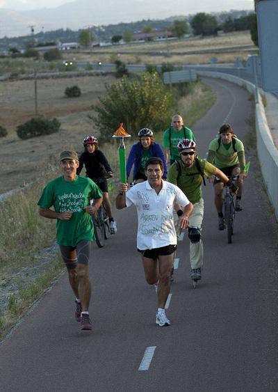 El principio del maratón verde