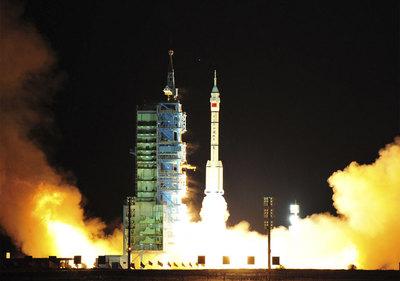 China da un paso clave en su proyecto de construir una estación espacial  Carrera_espacial_china