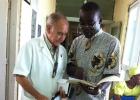 160.000 euros en materiales para la orden del misionero con ébola