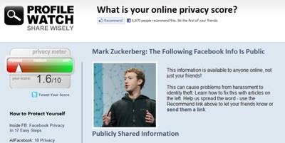 Medidor de privacidad