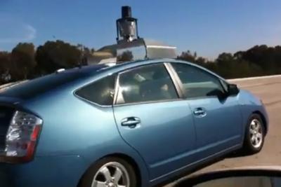 Google prueba coches sin conductor