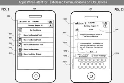Apple patenta un sistema para controlar los mensajes del móvil